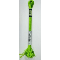 DMC Satin Floss, S471 Very Light Avocado Green, Embroidery Thread
