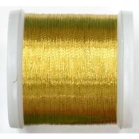 Madeira metallic thread 200m 358 emerald