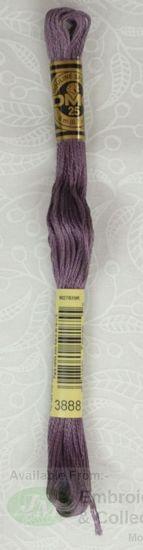 Colour 3888 Medium Dark Antique 8m Skein DMC Stranded Cotton Embroidery Floss