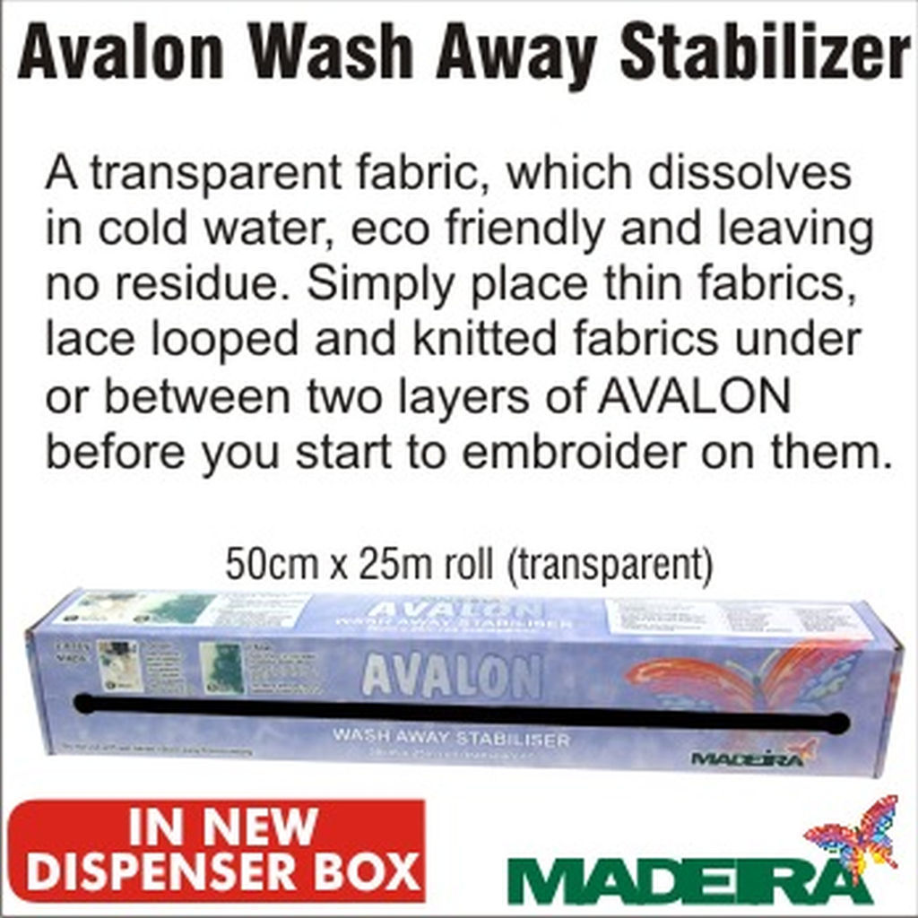 Avalon Light Weight Water Soluble Film 20cm x 100m Full Roll Wash Away