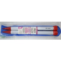 Birch Knitting Needle 30cm 20mm Jumbo, 1 Pair per Pack, aka Knitting Pins