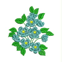 Floral Bouquet Embroidery Design, 010512-floral-bouquet-50