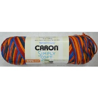 Caron Simply Soft Stripes Yarn Colour CENTRAL PARK, 141g, 215m, Acrylic