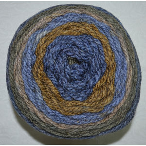Caron Tea Cakes, Soft Chunky Acrylic Wool Blend Yarn, 240g Ball, CORNFLOWER