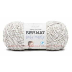 Bernat Baby Marly Ultra Soft Flannel Yarn, BEACH DAY, 300g Bulky