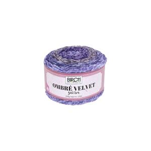 BIRCH Yarn OMBRE VELVET, THISTLE DOWN, Gradient Colour 200g/ Approx 150mt