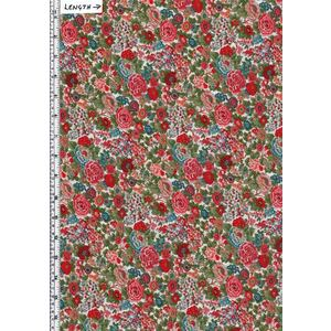 Liberty Fabrics Tana Lawn ELYSIAN DAY (Colourway A) 100% Cotton 136cm Wide