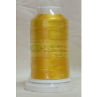 Birch Rayon Embroidery Thread Variations, 1000m Spool, Colour #8209 YELLOWS