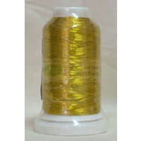 Birch Metallic Embroidery Thread, 1000m Spool, Colour #8852