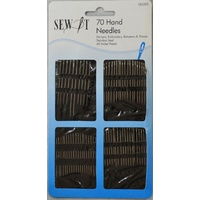 Sew It 70 Hand Needles, Darners, Embroidery, Betweens, Sharps, Stainless Steel