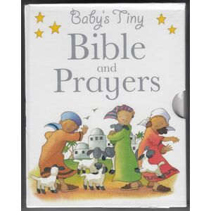 Babys Tiny Bible and Prayers, 2 Book Set, Babys Tiny Bible & Babys Tiny Prayers