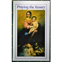PRAYING THE ROSARY, 64 Pages, 78mm x 128mm, Softcover, Regina Press