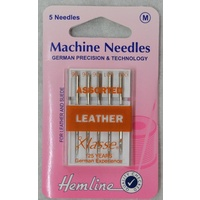 Machine Needles Leather Assorted Mix Pack 5 Needles