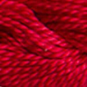 DMC Perle 3 Cotton, 5g 15m Skein, Colour 321, RED