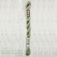 DMC Perle Cotton Thread, Size 5, 25m Skein, Colour 3053 GREEN GRAY