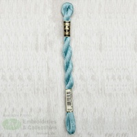 DMC Perle Cotton Size 5, 25m Skein, Colour 598 LIGHT TURQUOISE