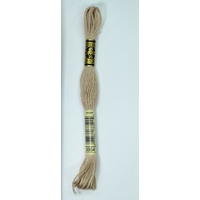 DMC Stranded Cotton Embroidery Floss, Colour 3864 Light Mocha Beige
