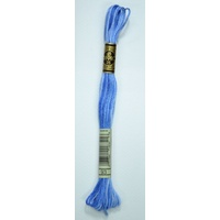 DMC Stranded Cotton Embroidery Floss, Colour 93 Variegated Cornflower Blue