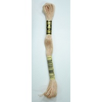 DMC Stranded Cotton Embroidery Floss, Colour 950 Light Desert Sand