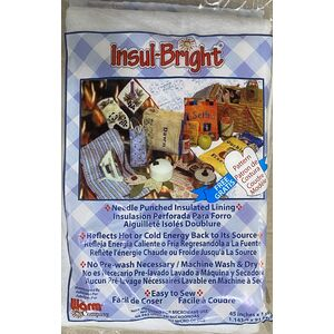 Insul Bright Insulating Material For Sewers & Crafters 114 x 91cm