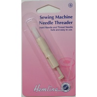 Hemline Sewing Machine Needle Threader & Inserter, Safe and Easy To Use.