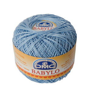 DMC Babylo 10 Crochet Cotton, 50g Ball, 3840 Blue