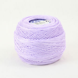 DMC Cebelia 10, #211 Light Lavender, Combed Cotton Crochet Thread 50g
