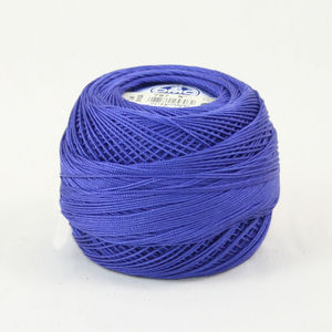 DMC Cebelia Combed Cotton Crochet Thread Size 10, 50g Ball, Colour 797 Royal Blue