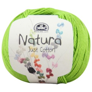 DMC Natura 100% Cotton 4 Ply Crochet & Knitting Yarn, 50g Ball, Colour 13, Pistache