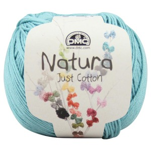 DMC Natura 100% Cotton 4 Ply Crochet & Knitting Yarn, 50g Ball, Colour 25, Auamarine