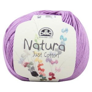 DMC Natura 100% Cotton 4 Ply Crochet & Knitting Yarn, 50g Ball, Colour 31, Malva