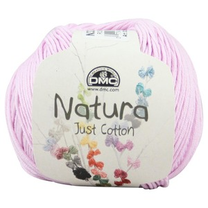 DMC Natura 100% Cotton 4 Ply Crochet & Knitting Yarn, 50g Ball, Colour 32, Rose Saraya