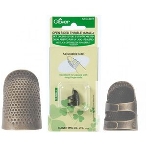 Clover Open Sided Thimble Small #6017 (EP)