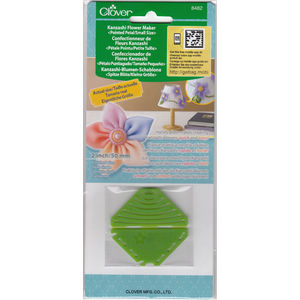 Clover Kanzashi Flower Maker, Pointed Petal, Small Size 50mm, Make Flowers Quick & Easy