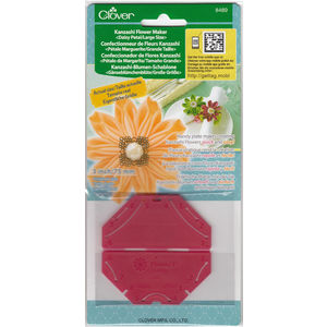 Clover Kanzashi Flower Maker, Daisy Petal, Large Size 75mm, Make Flowers Quick & Easy