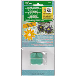 Clover Kanzashi Flower Maker, Gathered Petal, Extra Small Size 35mm, Make Flowers Quick & Easy