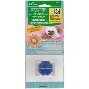 Clover Kanzashi Flower Maker, Daisy Petal, Extra Small Size 35mm, Make Flowers Quick & Easy