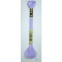 DMC Light Effects Thread E211 LILAC Embroidery Floss, 8m Skein