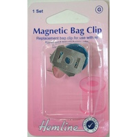 Hemline Magnetic Bag Clip, 1 Set 19mm
