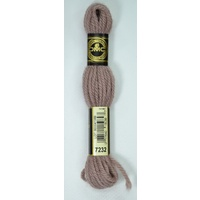 DMC Tapestry Wool, 8m SKEIN, Colour 7232 LIGHT COCOA, Laine Colbert Wool