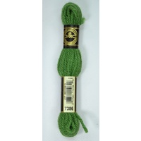DMC Tapestry Wool, 8m SKEIN, Colour 7386 MEDIUM FOREST GREEN