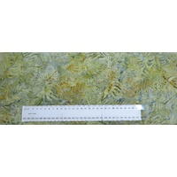 BATIK Fabric Per 1/2 Metre, 110cm Wide, #640062.1396 FERN, 100% Cotton