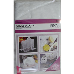 Birch CheeseCloth, For Craft & Household Use, 90cm x 2.7m. 100% Cotton Cheese Cloth