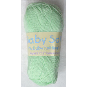 Sullivans Baby Soft Knitting Yarn, 50g Ball, 4 Ply, MINT