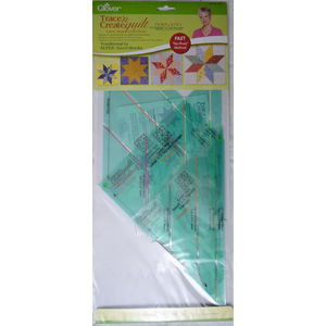 Clover Trace N Create Quilt Templates 9513, Nancy Zieman Lone Star Collection