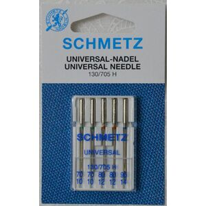 Schmetz Machine Needle UNIVERSAL Assorted Mix 70, 80, 90, 130/705 HAx1