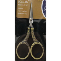 Klasse Multi Use Embroidery Scissors, 110mm, Hand Crafted, Super Fine Tip #02