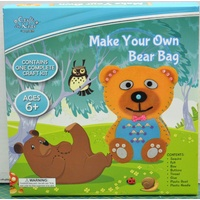 BMS Make Your Own Bear Bag, Complete Craft Kit, Age 6+, Crafts For Kids