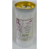 ALWAYS BE AN ANGEL Devotional Candle, 70 Hour Burn Time