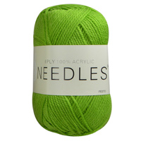 Needles Acrylic Knitting Yarn 8 Ply, 100g Ball, PESTO
